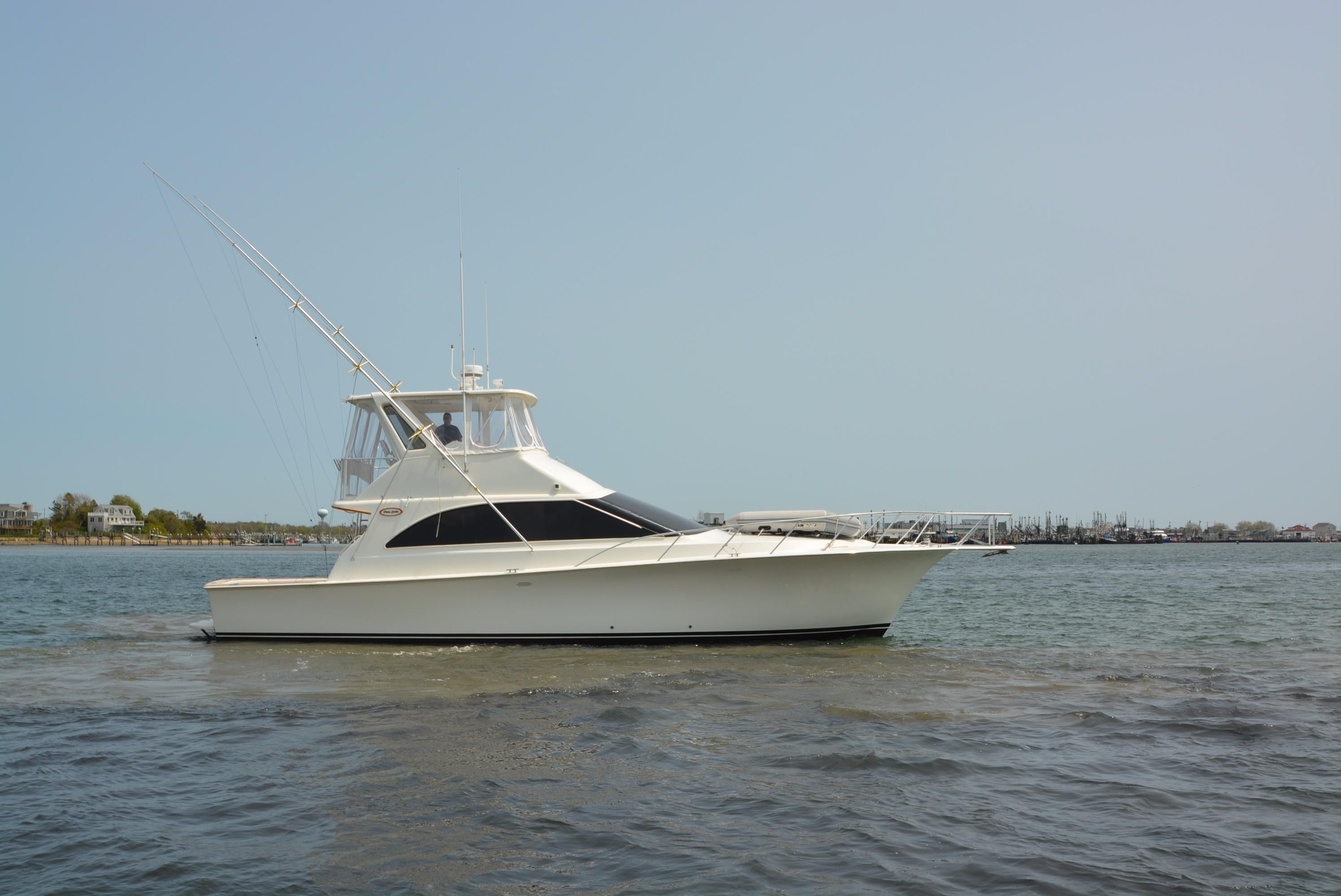 1997 ocean yachts super sport power boat for sale www for Ocean yachts 48 motor yacht for sale