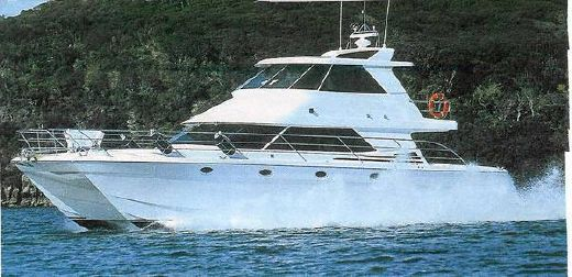 2002 Export Roger Hill 52 Power Catamaran