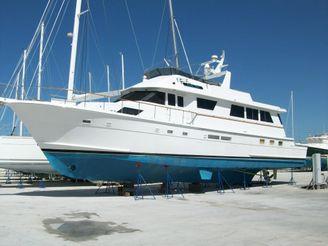 1989 Hatteras 74 Cockpit Motor Yacht