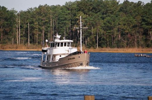 2009 Custom Steel Northsea trawler