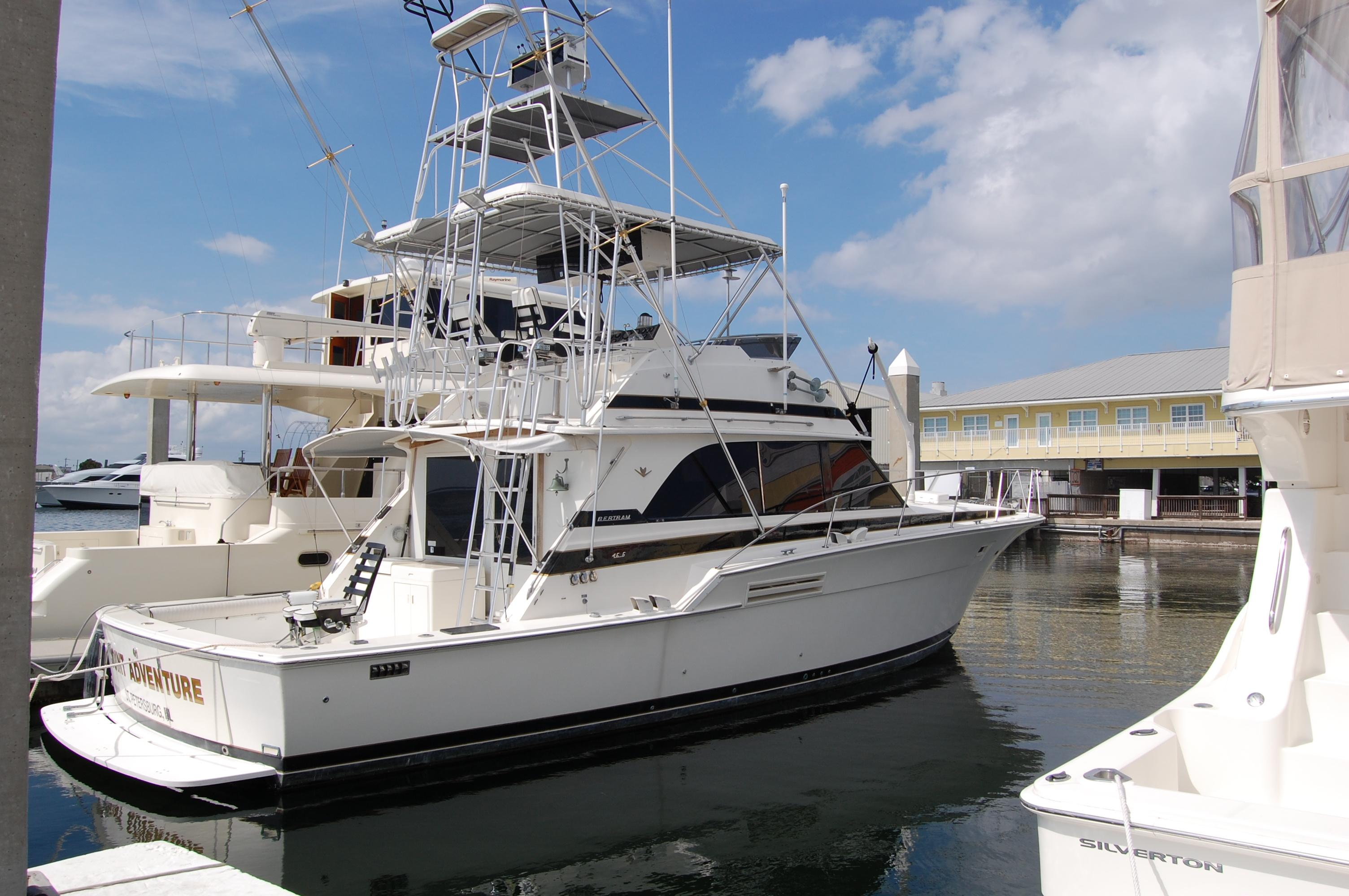 46 ft 1984 bertram yachts 46 convertible