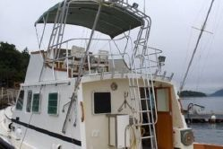 photo of  46' Wilbur /Jarvis Newman Flybridge Sportfish Cruiser