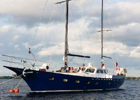 Bruce Roberts Custom 63 Pilothouse Ketch