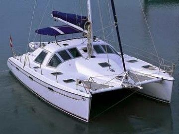 2005 Alliaura Privilege 395 catamaran