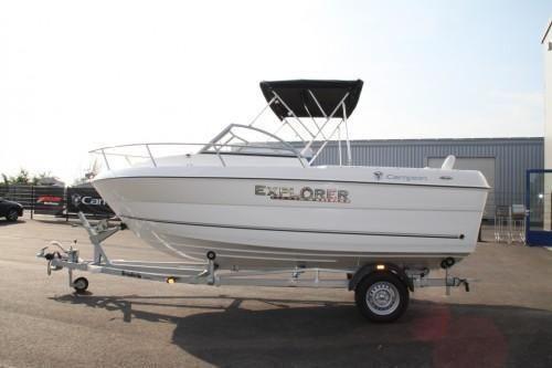 2011 Campion Explorer 542 Sport Cabin