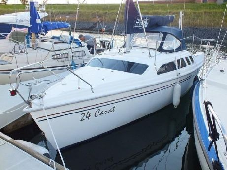1998 Hunter 240 met trailer