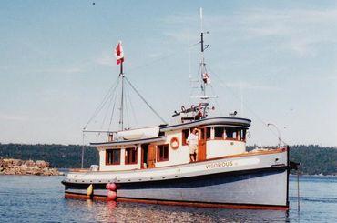 1956 Benson Tug Conversion