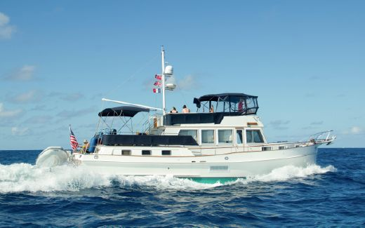 2000 Grand Banks Heritage 52 Motoryacht - Stabilized