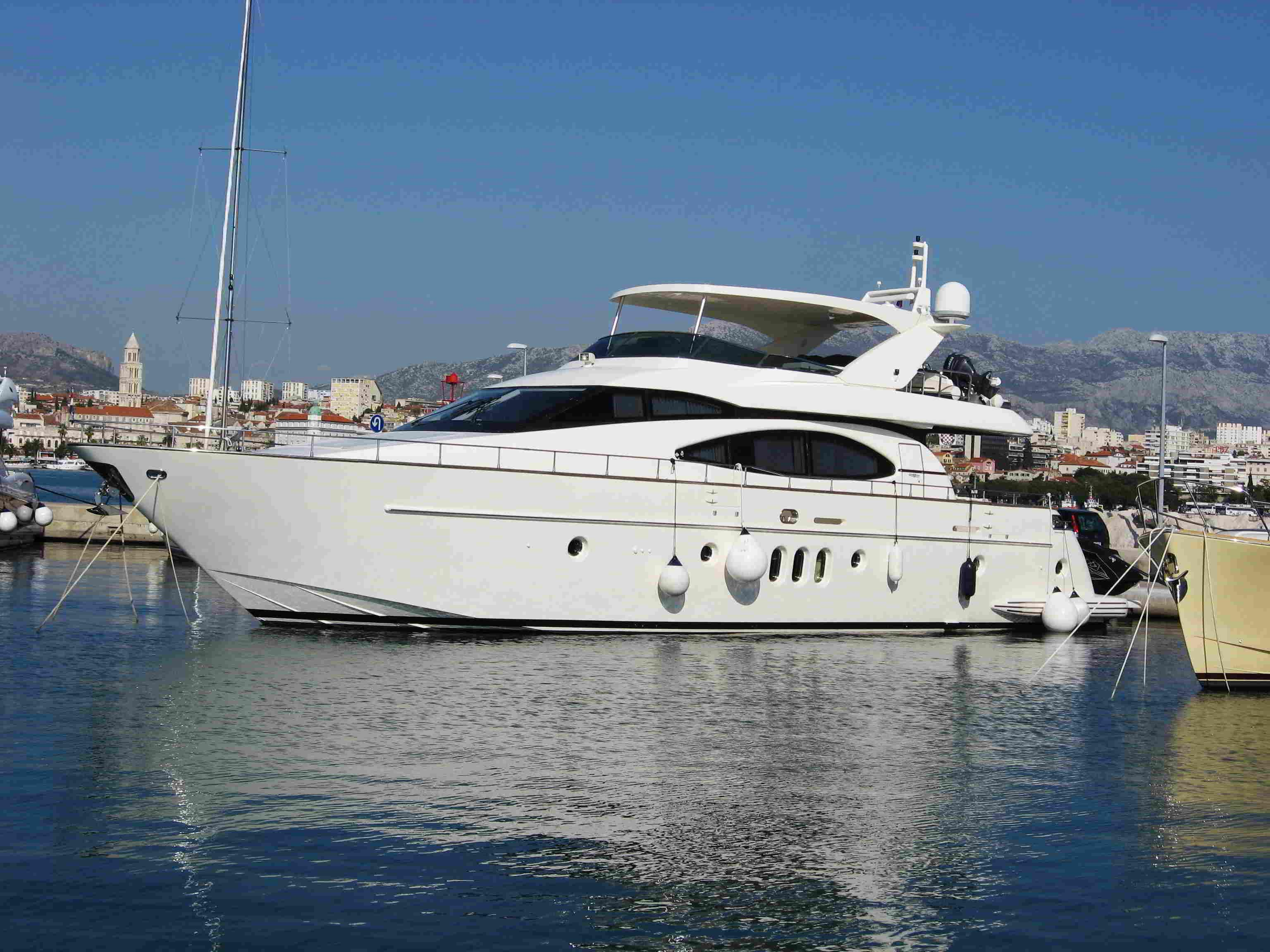 2002 azimut 74 solar power new and used boats for sale