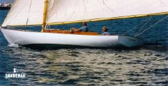 2004 Herreshoff Buzzards Bay 25 Gaff  Sloop