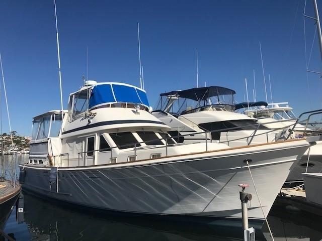 1986 offshore cockpit motoryacht power boat for sale www for Worldwide motors san diego ca