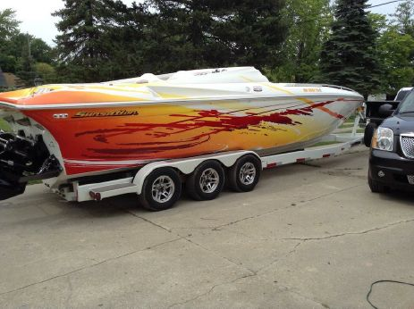 2008 Sunsation 32 Dominator SS Mid Cabin