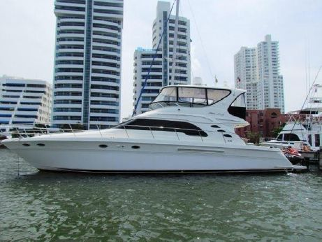 2001 Searay 56 sedan bridge
