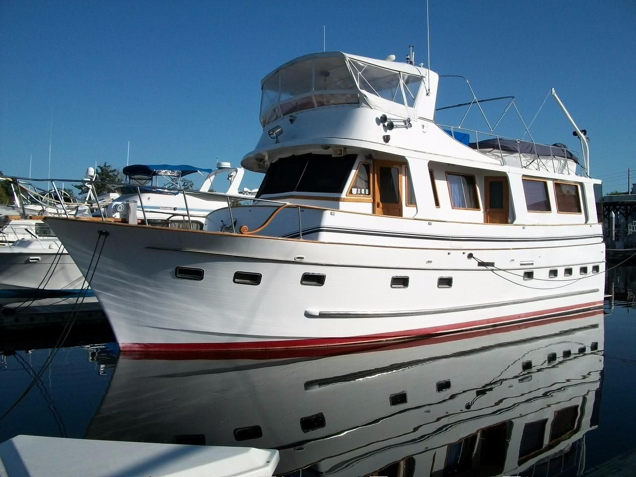 1987 marine trader 50 motor yacht power boat for sale for Boat motors for sale in florida
