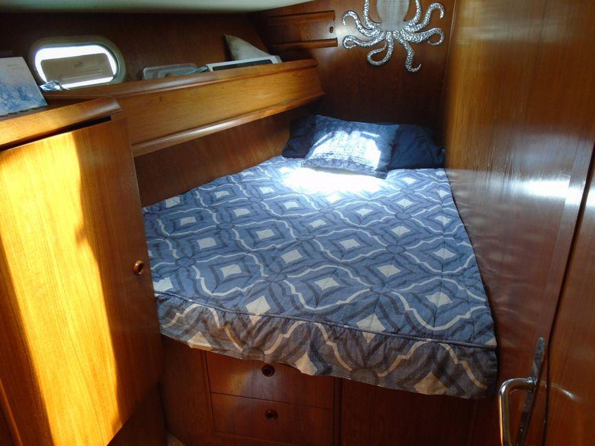 Jeanneau 45.1 Sailboat Cabin Bed
