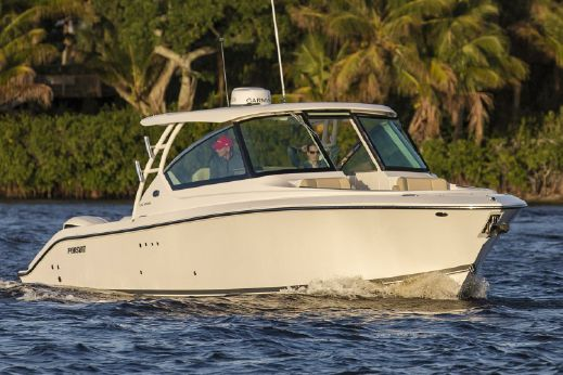 2018 Pursuit DC 295 Dual Console