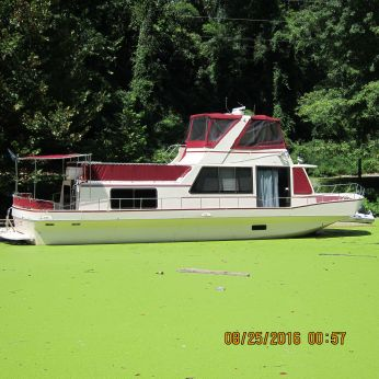 1987 Holiday Mansion 490 coastal houseboat