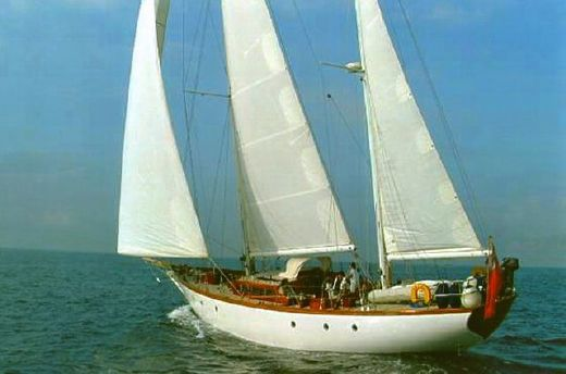 1989 Williams Boatyard Alan Pape Alan Pape 73' Ketch