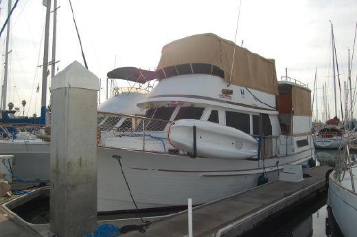 1986 Hershine Sun Deck Trawler
