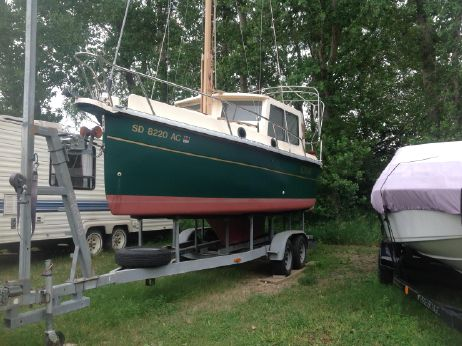 1999 Nimble Kodiak Pilothouse Motor Sailor