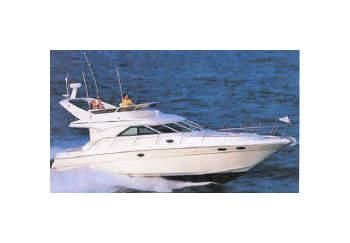 1996 Sea Ray 400 FLY TOP OFFER 3 Cabins