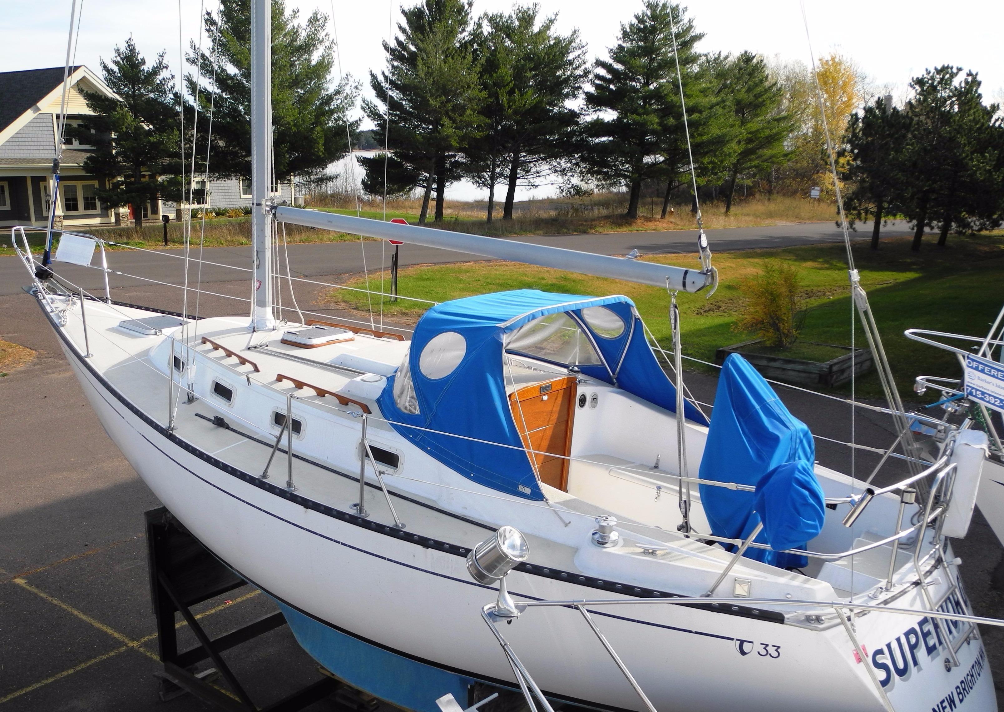 1986 Tartan Soverel 33 Sailboat Transport: 1984 Tartan 33 Cruiser For Sale