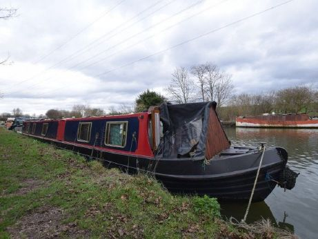 1997 Narrowboat 65ft Semi Trad