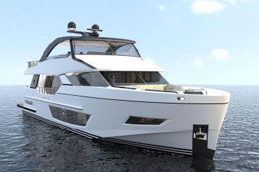 2020 Ocean Alexander 84R Open Bridge Motoryacht