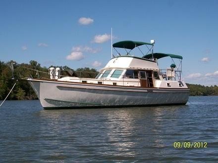 1976 Gulfstar Trawler