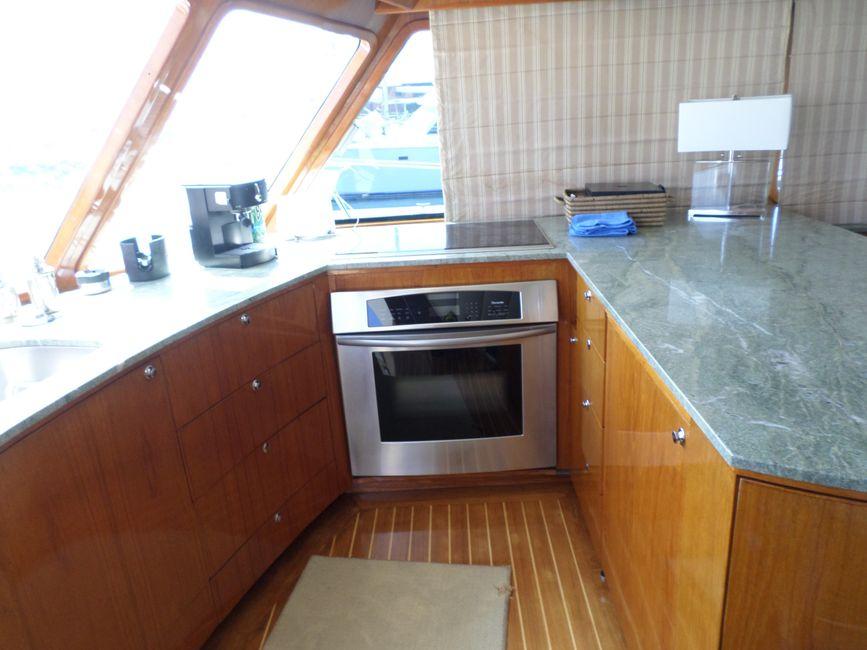Pacifica 67 Sportfisher Galley Kitchen