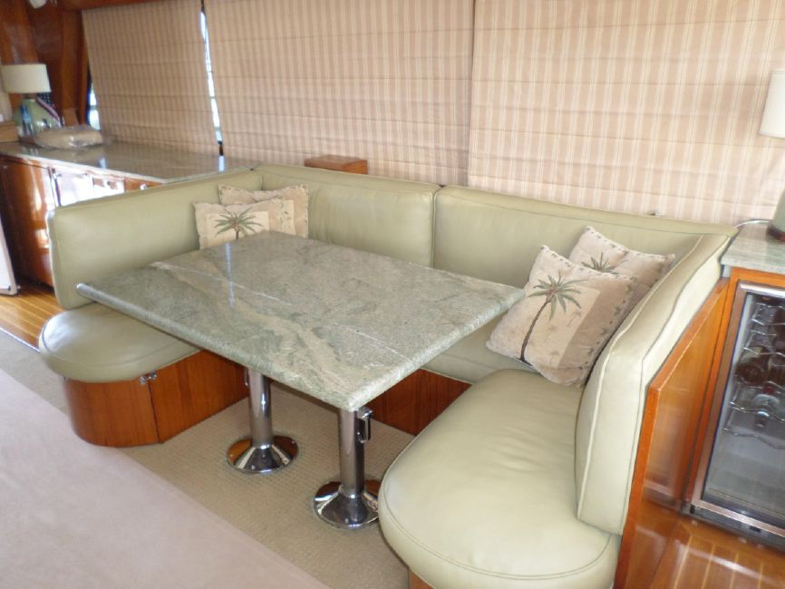 Pacifica 67 Sportfisher Galley Table