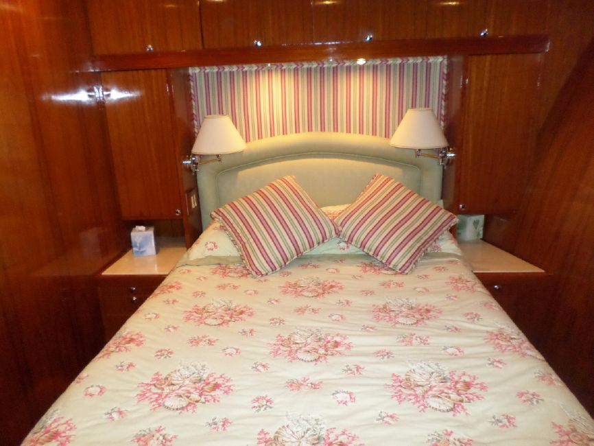 Pacifica 67 Convertible Master Stateroom