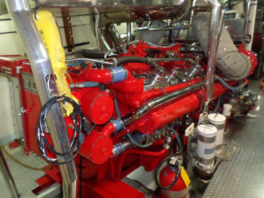 Pacifica 67 Convertible Yacht Diesel Engine