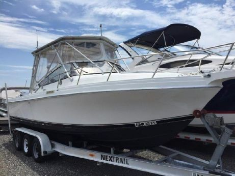 1990 Blackfin 25 COMBI WALK AROUND