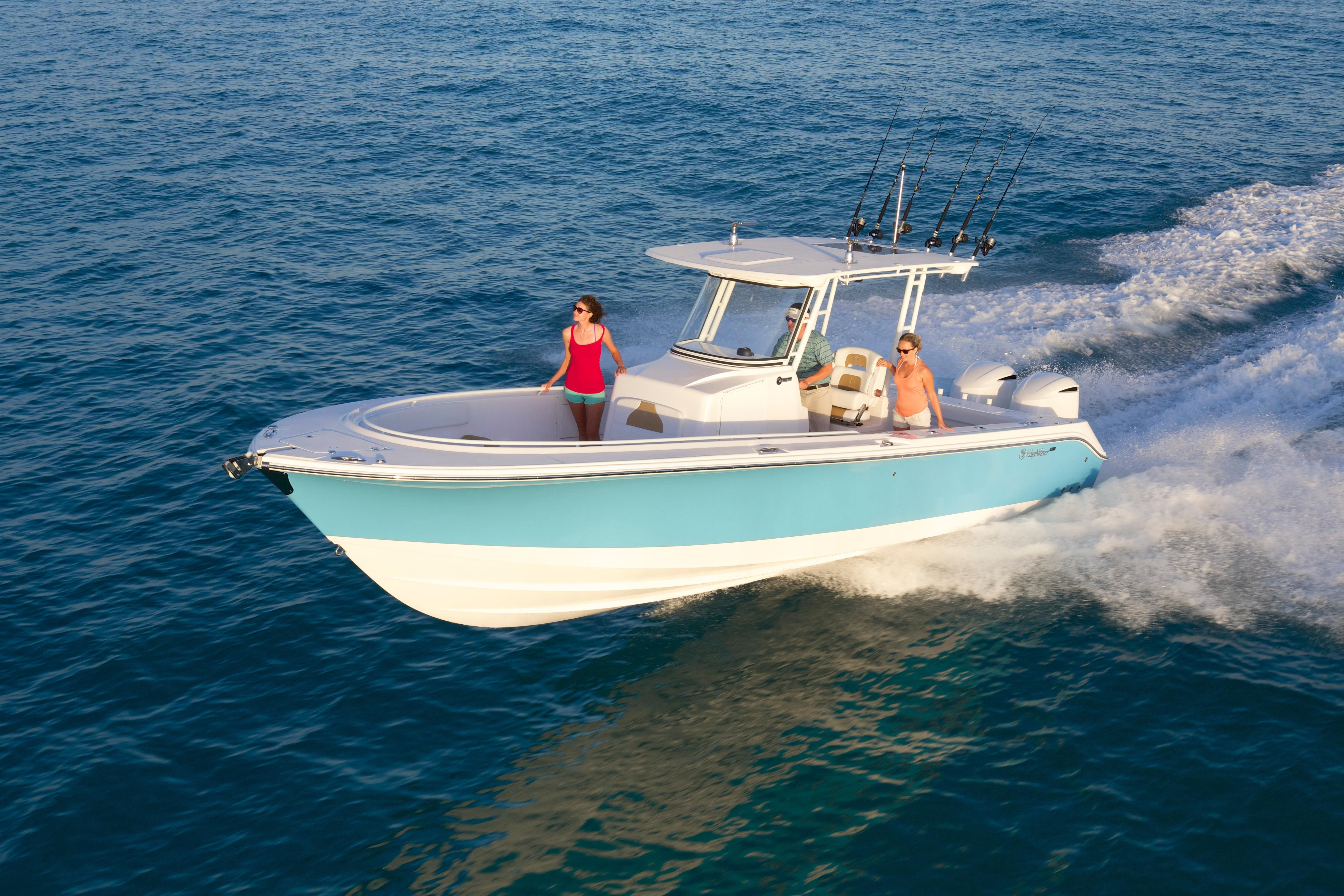 2018 edgewater 320 cc power boat for sale for The edge water
