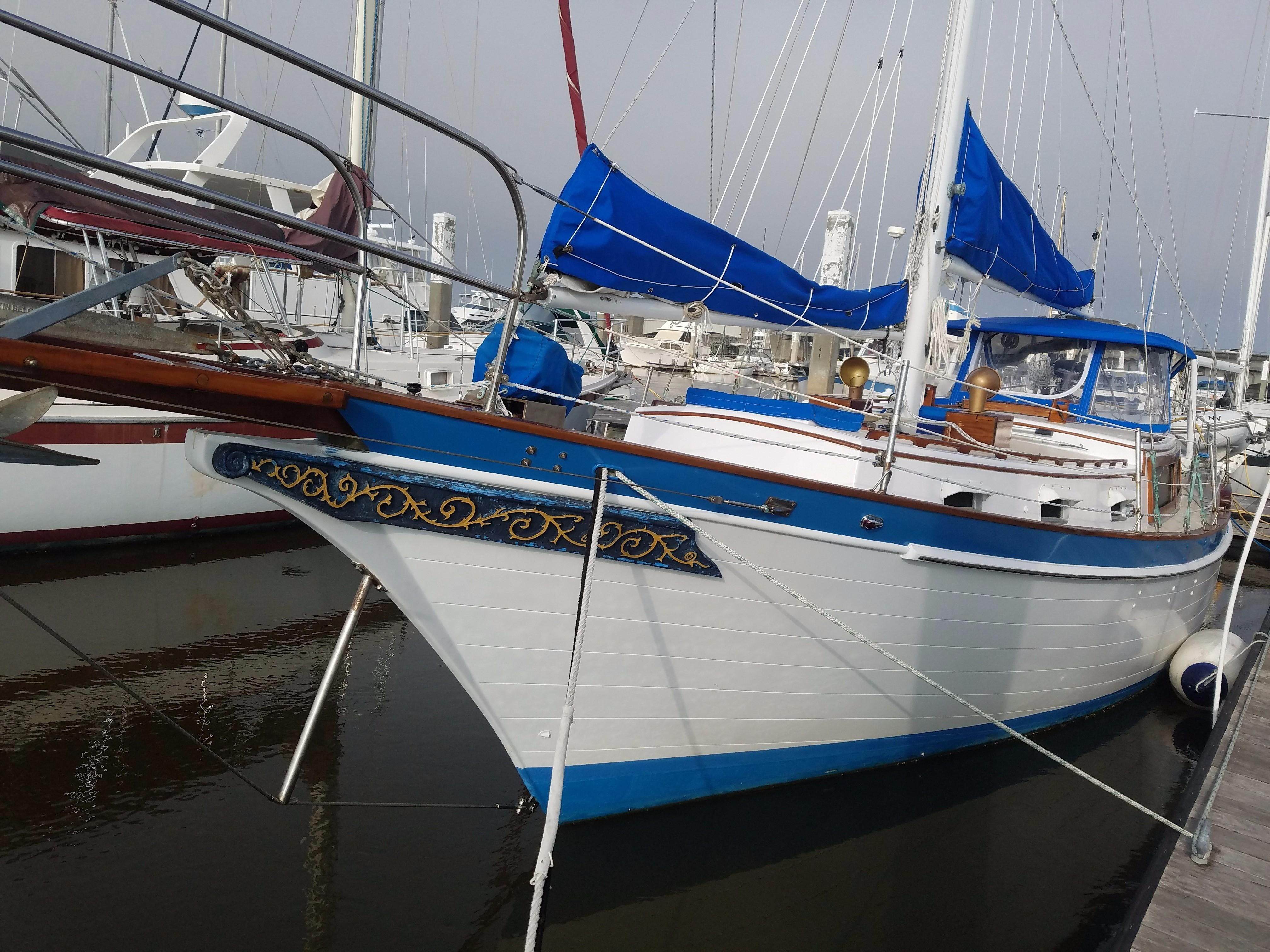 1975 Downeaster 38 Sail Boat For Sale Www Yachtworld Com