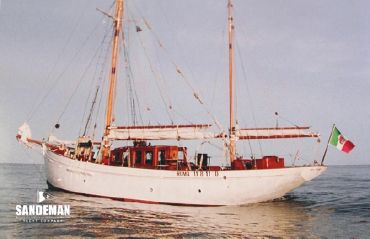 1937 Custom Philip and Son Auxiliary Gaff Ketch