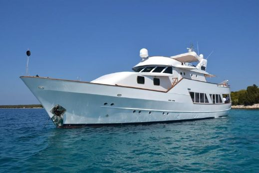 1976 Classic Cantieri Clemna motor yacht