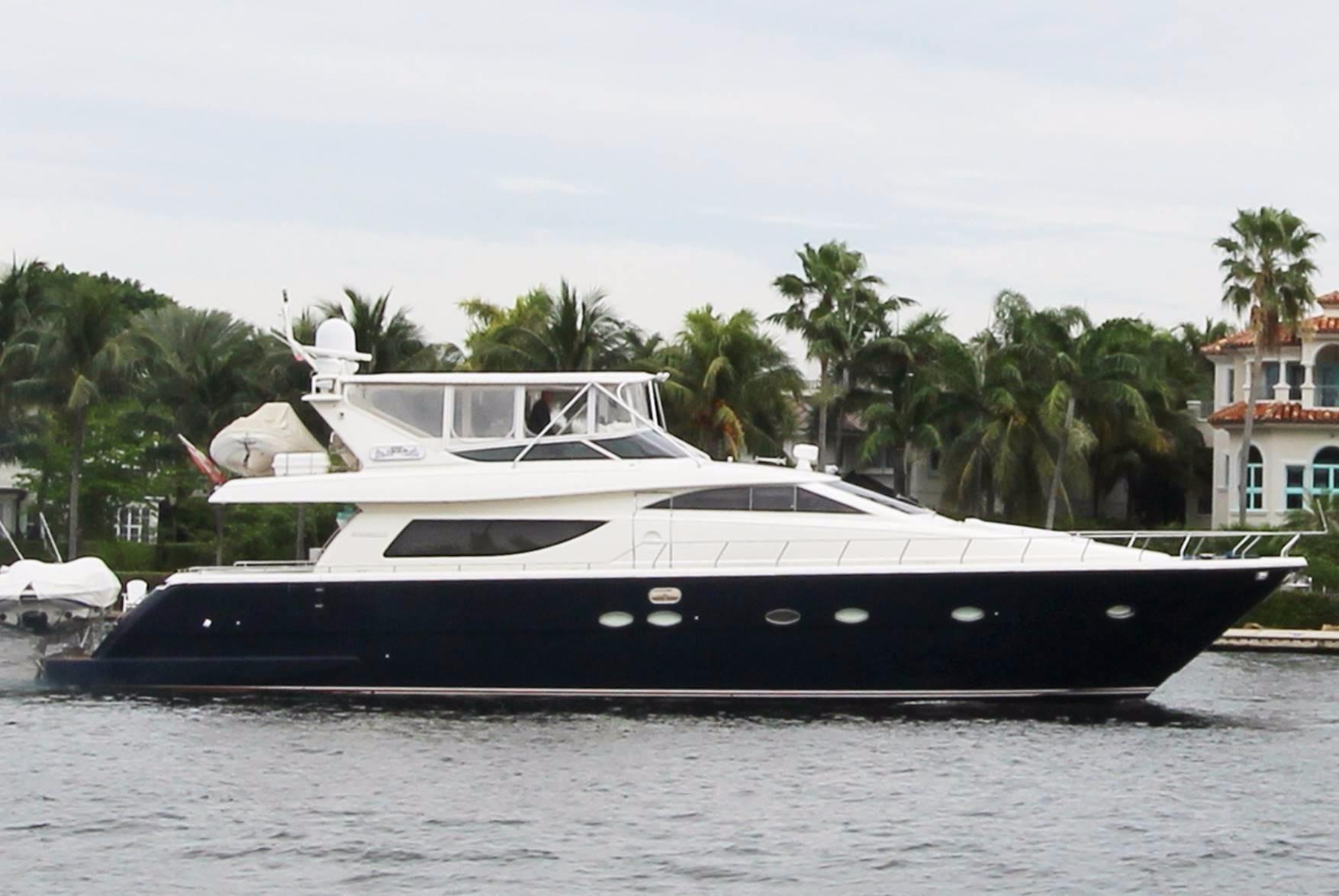 2004 Uniesse 72 Motor Yacht Power Boat For Sale Www