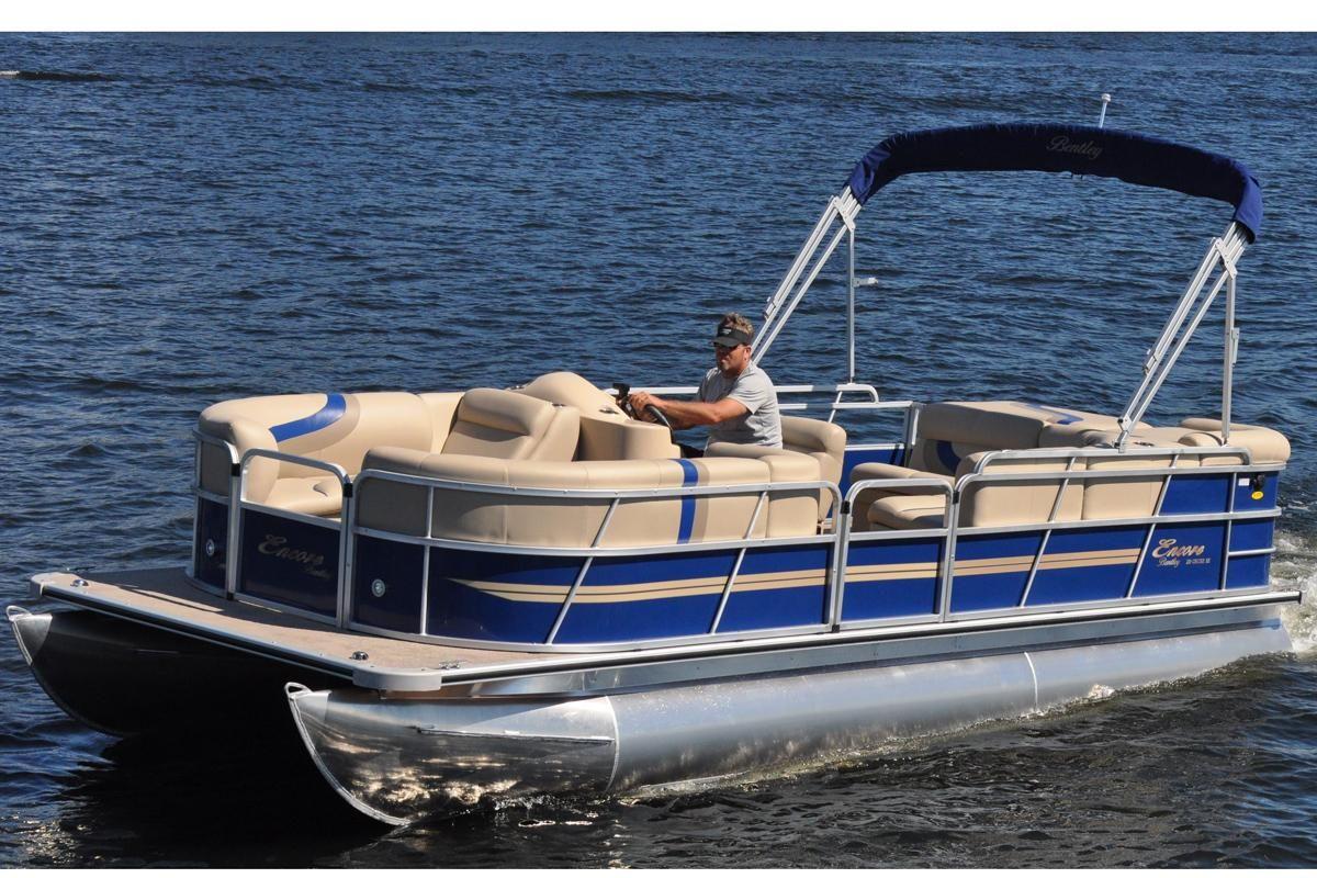 sale com boats xlarge boat yachtworld bentley power pontoon cruise for pontoons