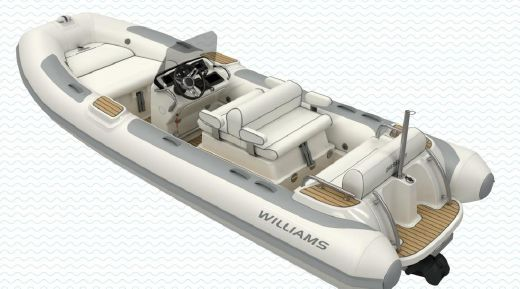 2018 Williams Jet Tenders Dieseljet 505