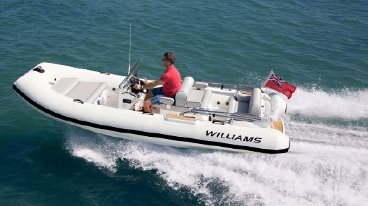 2016 Williams Jet Tenders Dieseljet 505