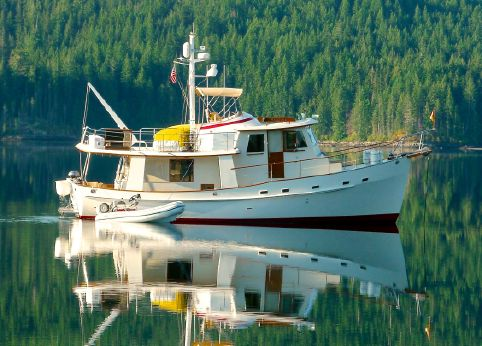 1990 Kadey Krogen Trawler