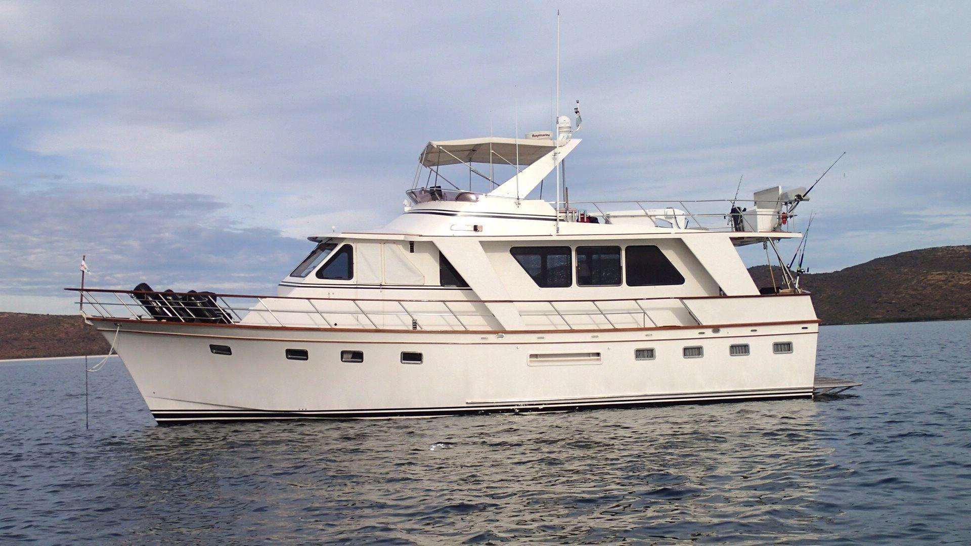 53' DeFever Performance Offshore Cruiser+Boat for sale!