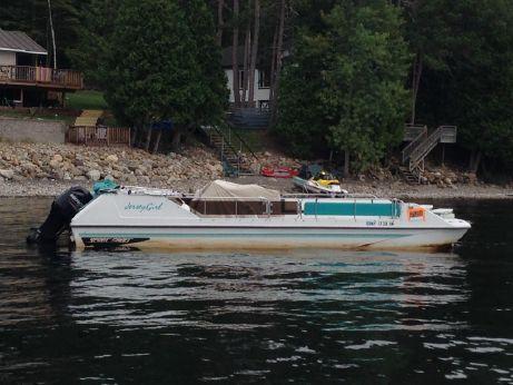 1991 Sportcraft Deck boat-Fresh water