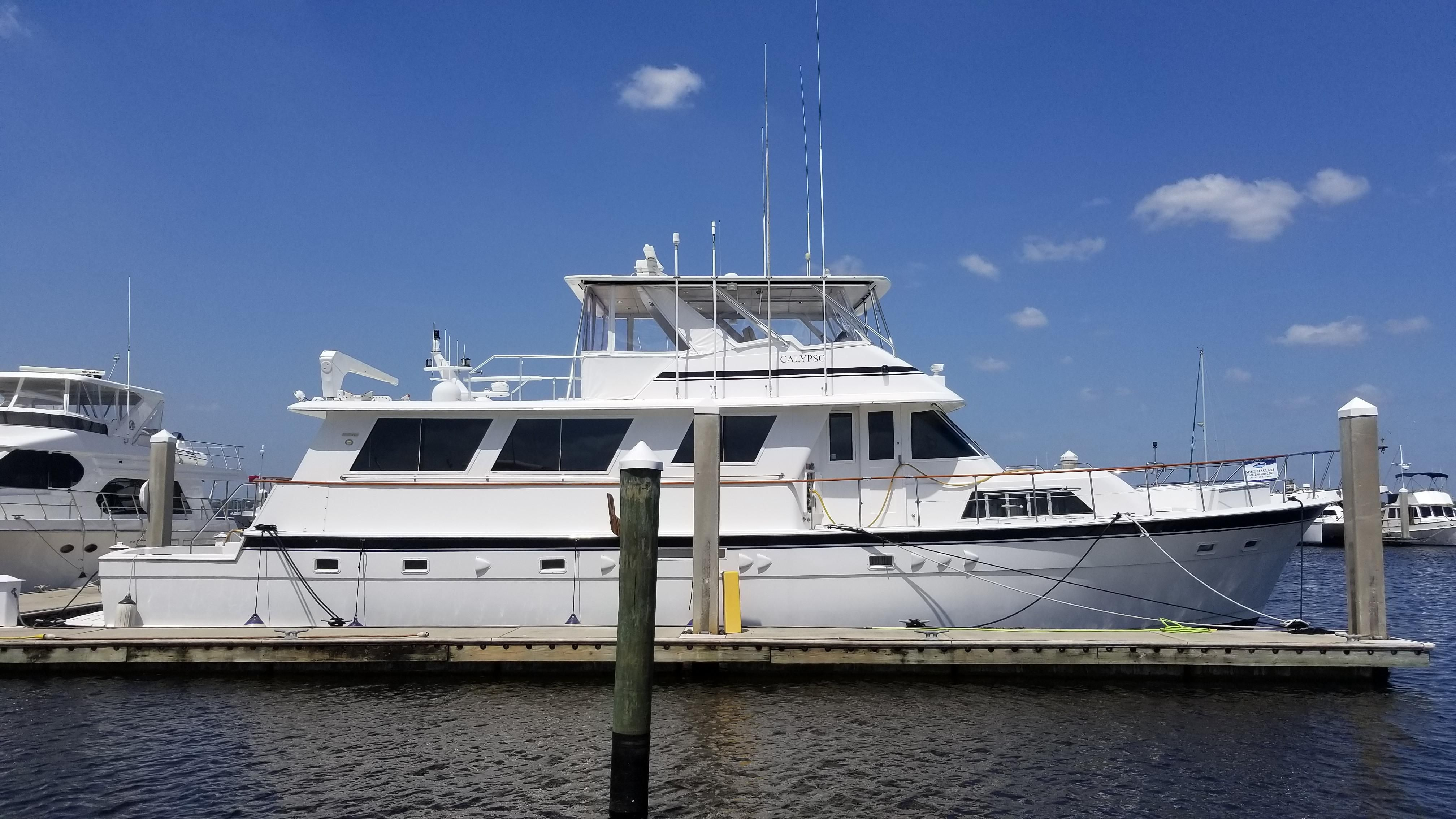 1982 hatteras 70 cockpit motor yacht power boat for sale for Hatteras 70 motor yacht