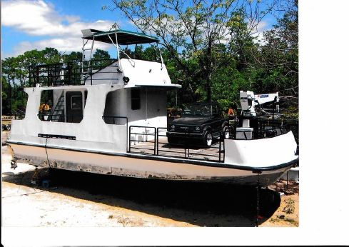 1990 Atlantic Shipyard Inc. Open Deck Work Boat