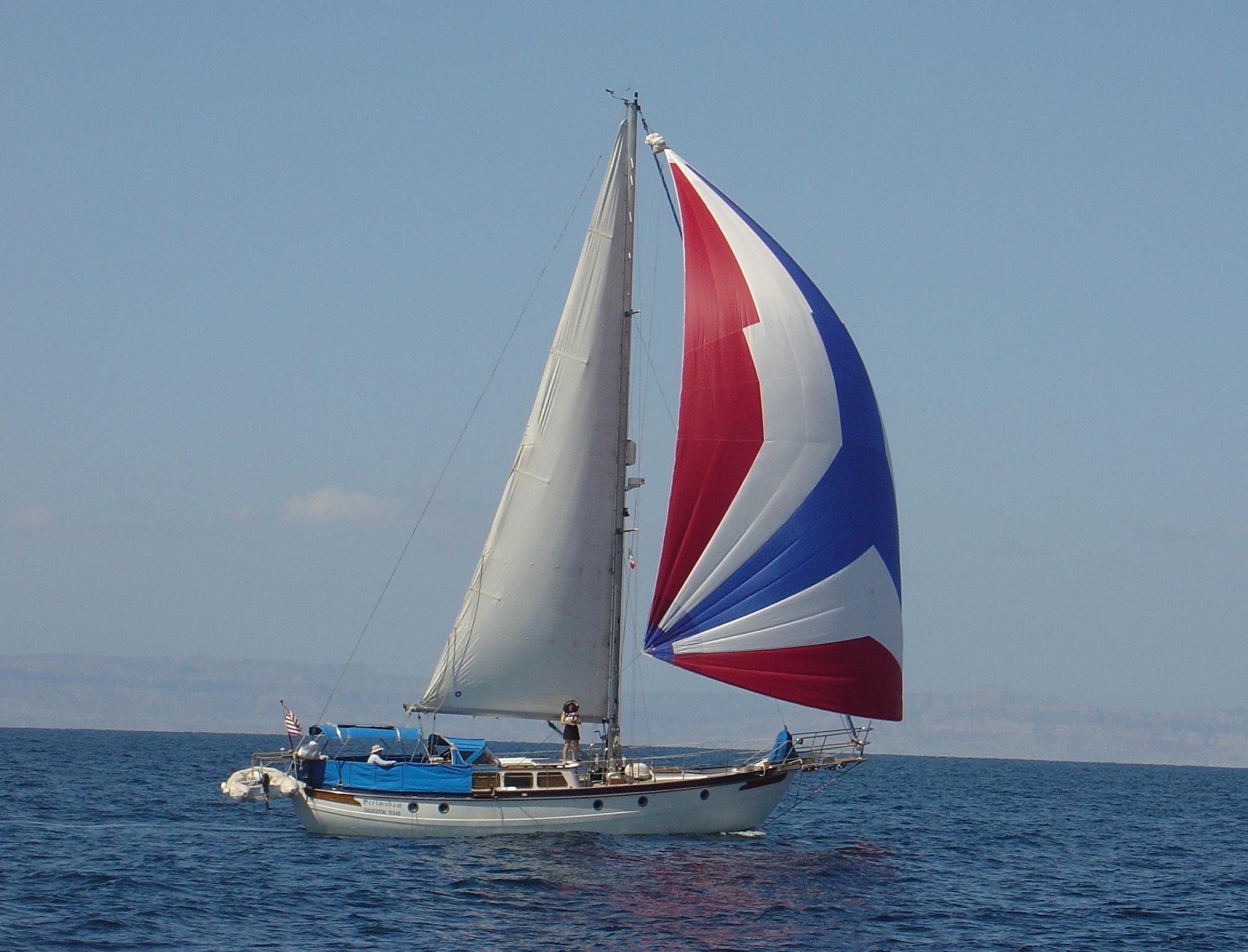 43' Hampton 43 Pilot House Cutter+Boat for sale!