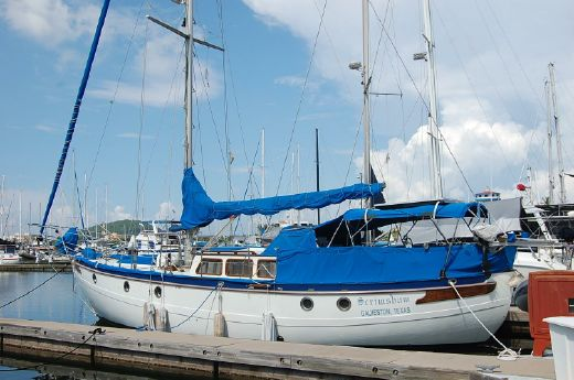 1996 Hampton 43 Pilot House Cutter