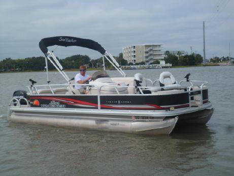 2011 Sun Tracker FISHIN' BARGE 21 Signature Series